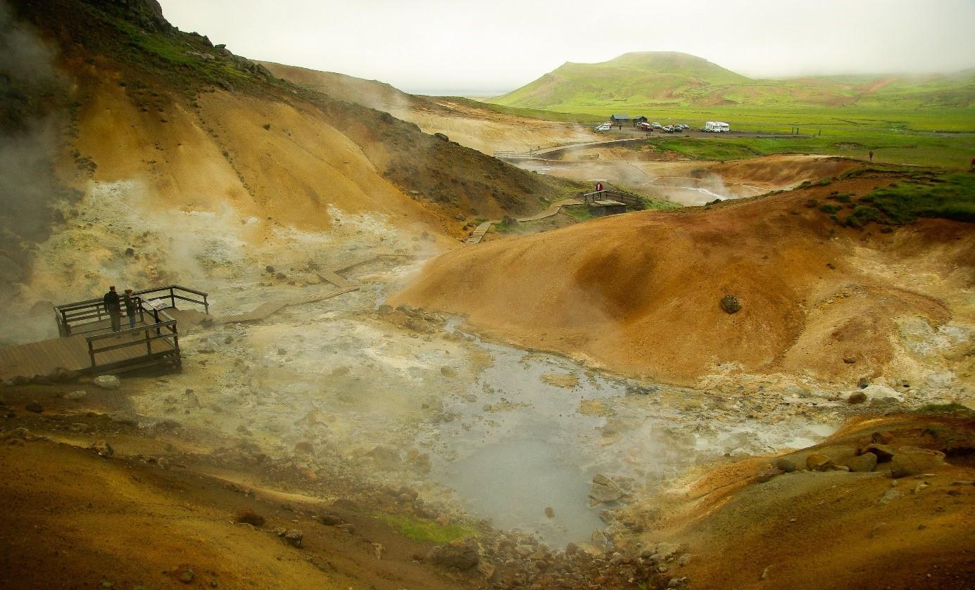 Reykjanes global geopark stoom