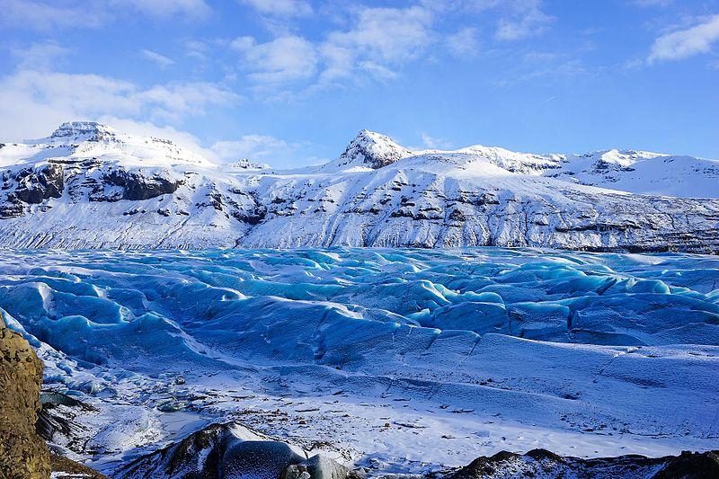 Svínafellsjökull panorama