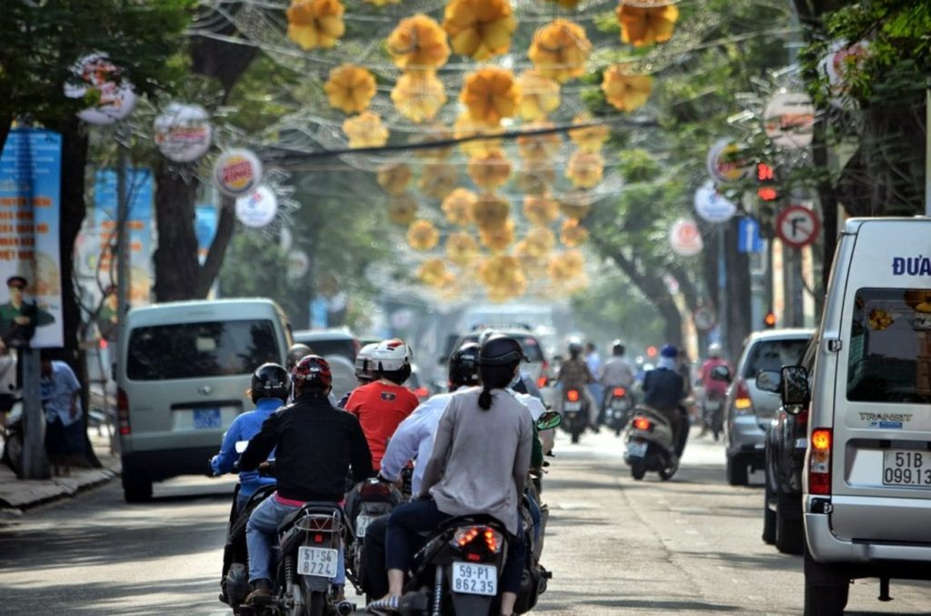 Vietnam-Ho Chi Minh stad